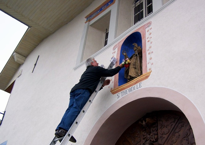 St Théodule © Mairie de Montgellafrey