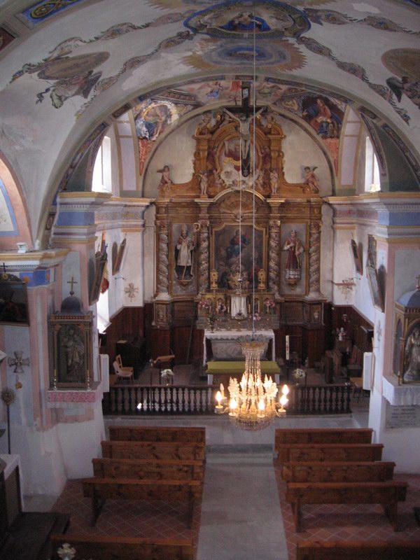 Eglise Baroque - St Théodule © Mairie de Montgellafrey