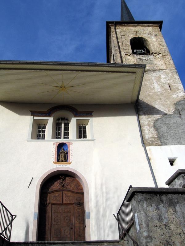 Eglise St Théodule © Mairie de Montgellafrey