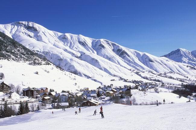 Le domaine skiable © P.Schlaller - Arvan Photo