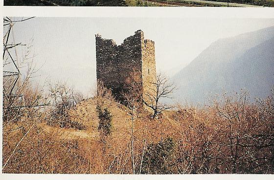 La Tour de Châtel André, XII ème siècle © Sainte-Marie-de-Cuines