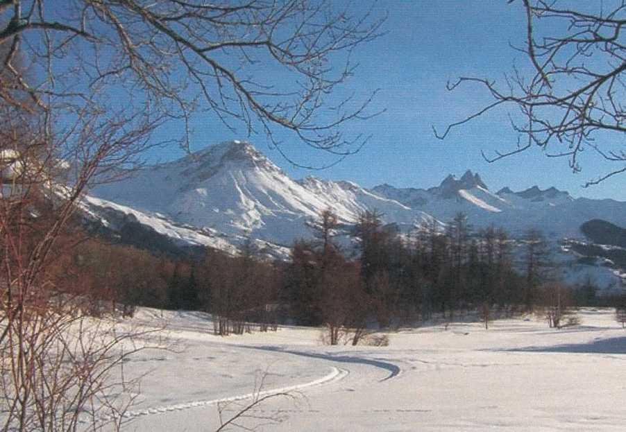 Ski de fond aux Albiez © Marcel