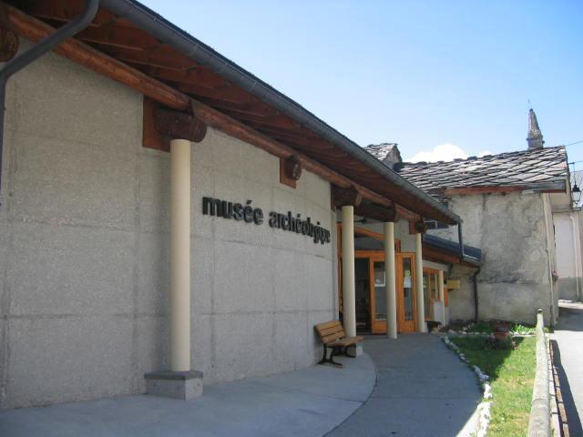 Le musée arcjéologique de Sollières © SPM