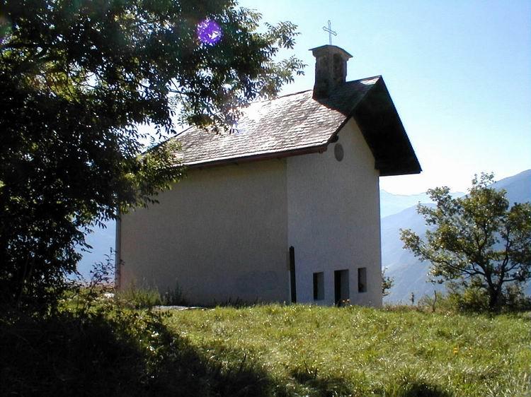 Une des nombreuses chapelles de Jarrier © Jarrier