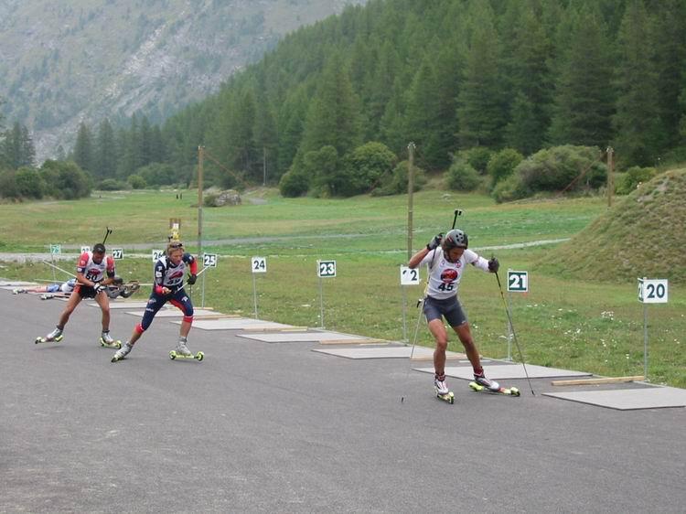 Course de biathlon d'été © Bessans