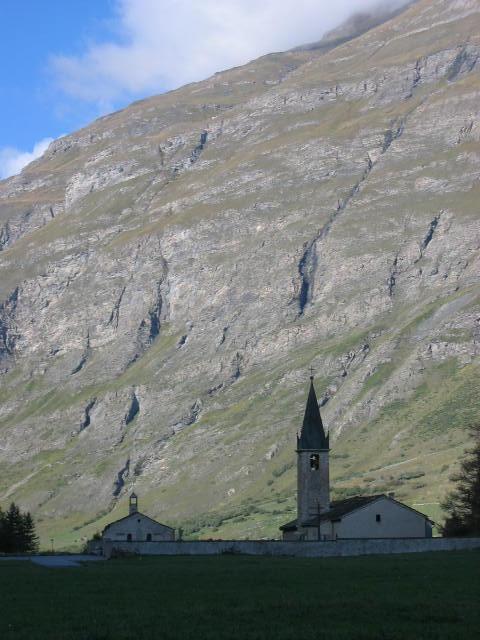 L'église de Bessans © SPM