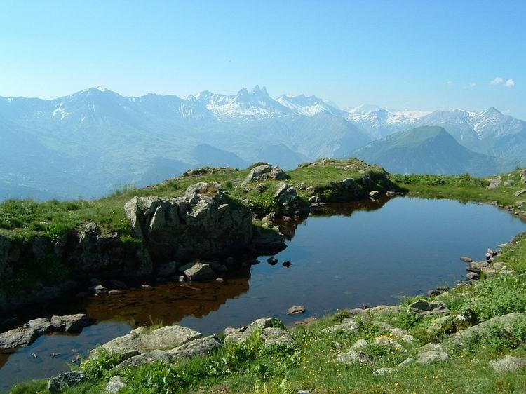 Panorama vers les Aiguilles d'Arves © Jarrier
